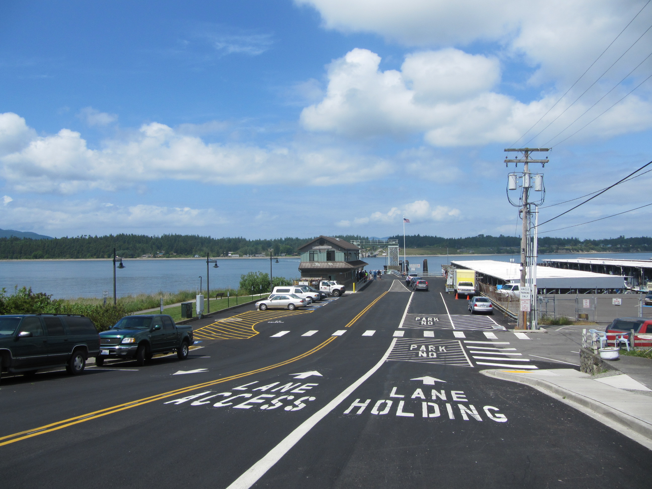 Guemus Island Ferry Dock