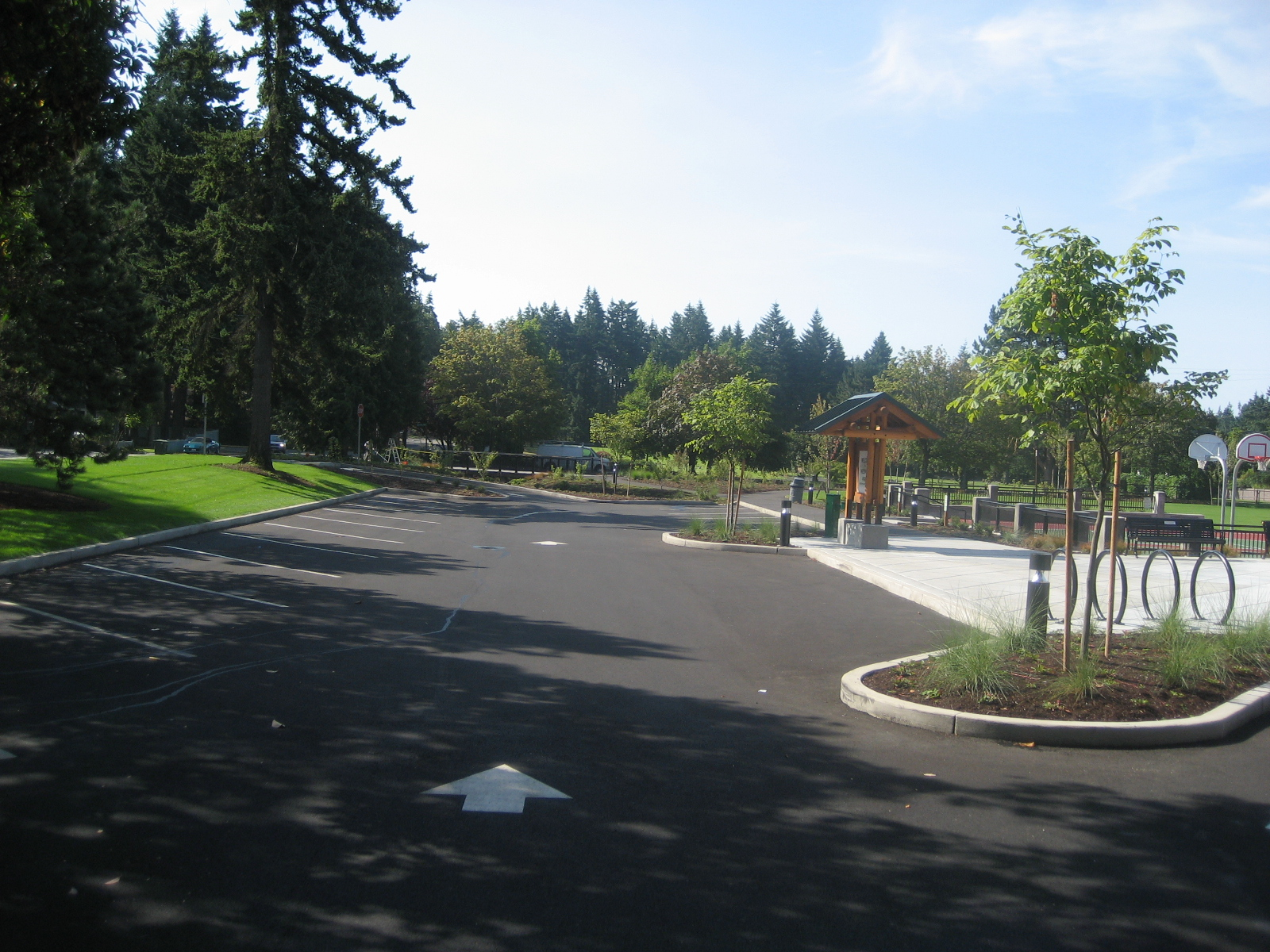 Park Parking Lot
